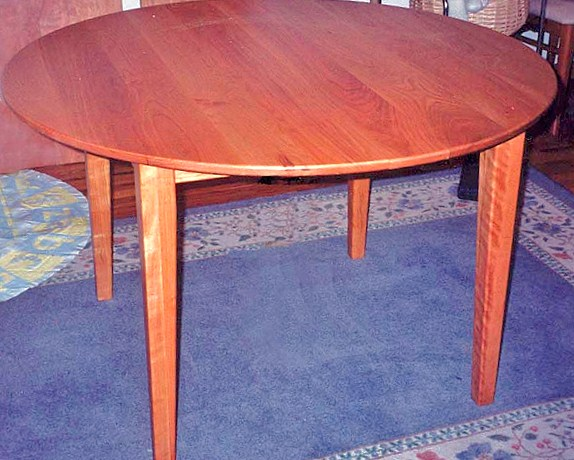 Solid Cherry Shaker Round Tables Boulder Furniture Arts