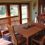 Custom Solid Cherry Dining Table