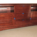 Custom Solid Maple Torii Media Console