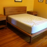"Custom Solid Cherry ""Mesa"" Bed"