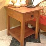 """Solid Cherry """"Mission"""" Nightstand"""
