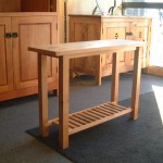 Solid Alder Kitchen Console Table
