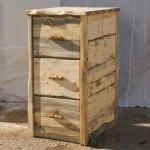 Beetlekill Blue Pine File Cabinet