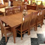 "Solid Cherry ""Mission"" Dining Chairs"