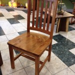 "Solid Rustic Cherry ""Schoolhouse"" Chair"