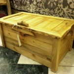 Beetlekill Blue Pine Blanket Chest