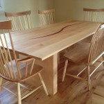 """Solid Maple """"Lintel"""" Table"""