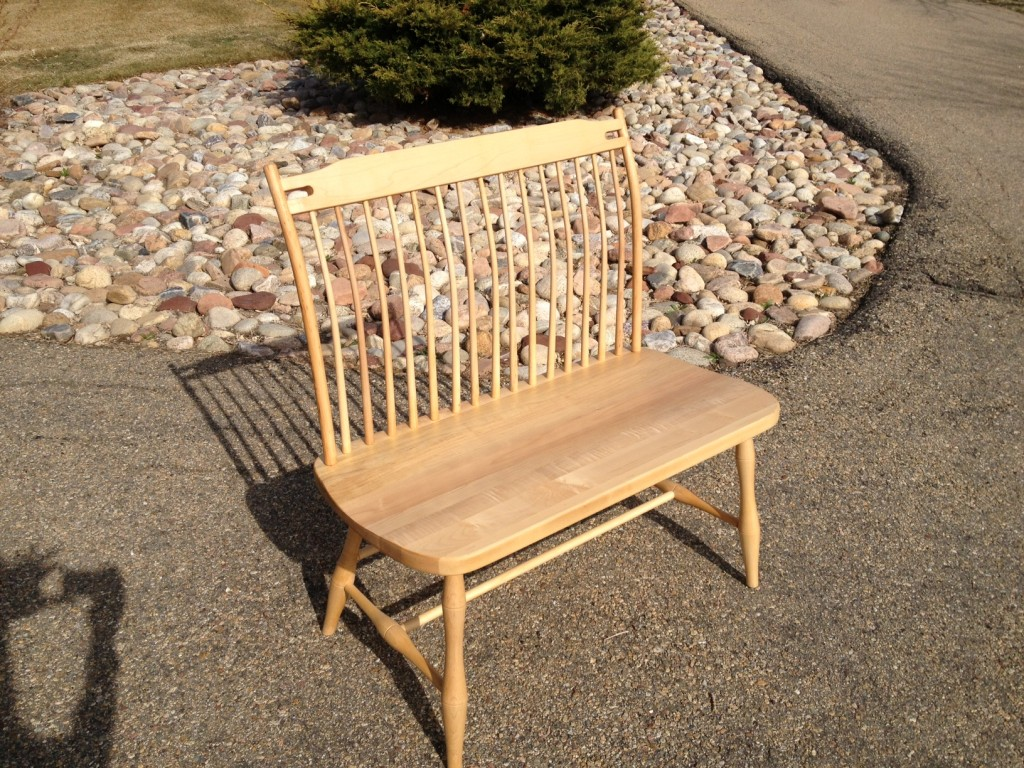 "Solid Maple ""Lansing"" Bench - 36"""