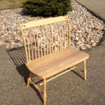 "Solid Maple ""Landsing"" Bench"
