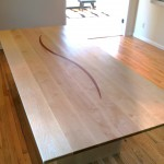 Custom Solid Maple Dining Table