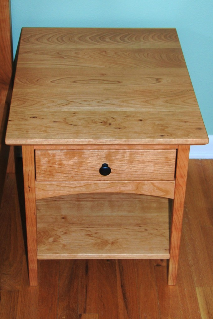 "Custom Cherry ""Prairie"" Nightstand"