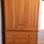 """Solid Cherry """"Prairie"""" Cabinet"""