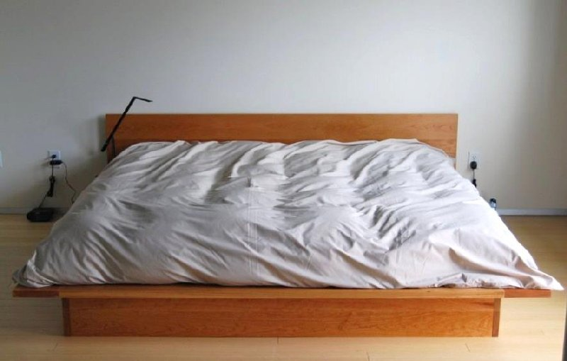 Solid Cherry Lo Modern Platform Bed Boulder Furniture Arts