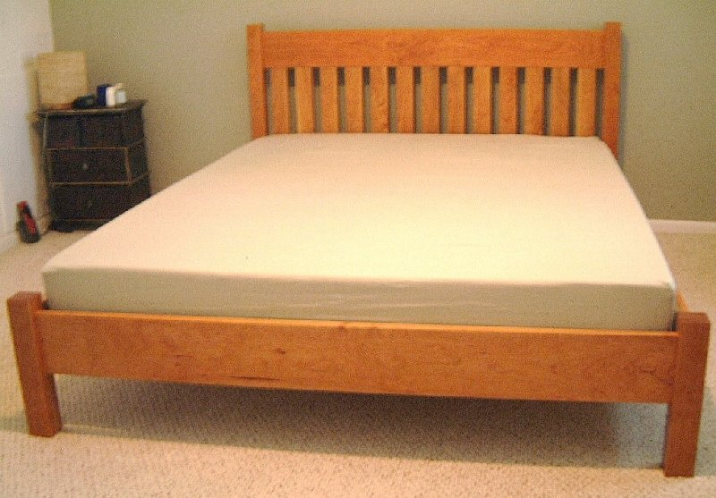 Cherry Quot Mission Quot Queen Bed Boulder Furniture Arts
