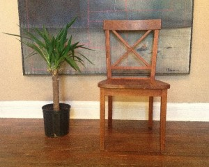 """Solid Cherry """"LaCroix"""" Chair"""