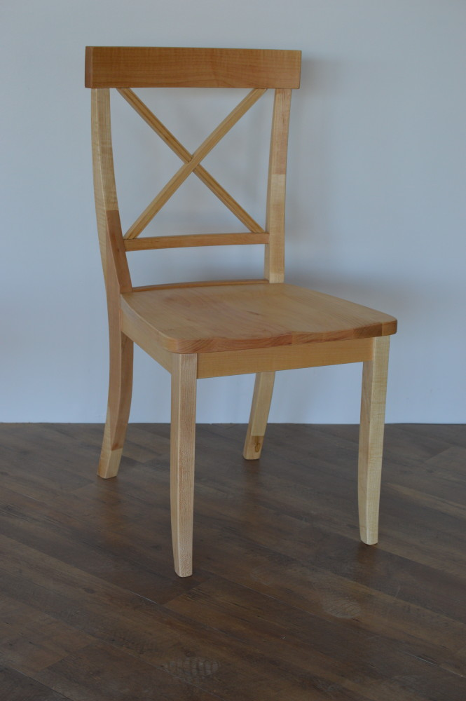 "Solid Maple ""LaCroix"" Chair"