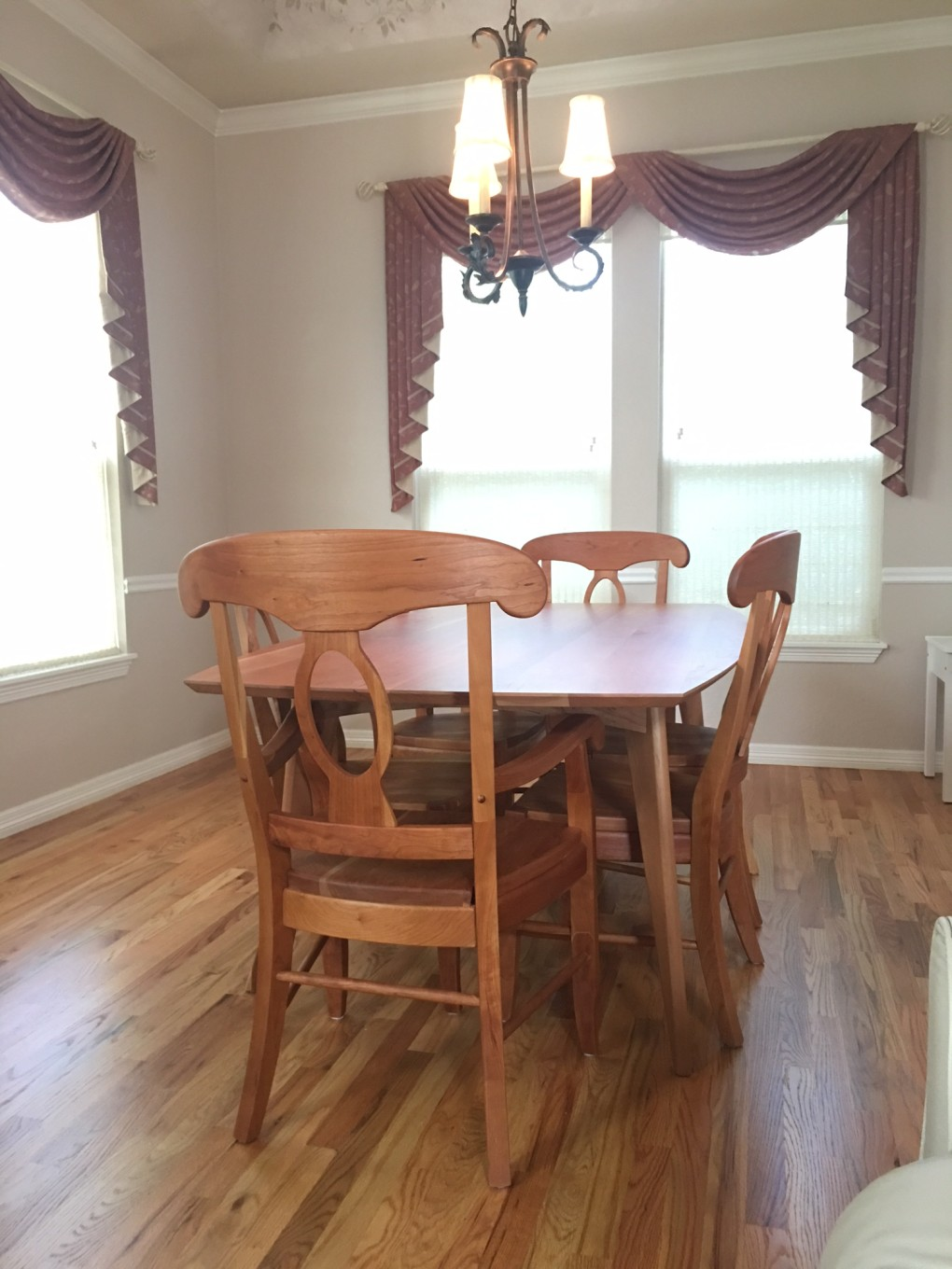 "Solid Cherry ""Laurel Chairs"