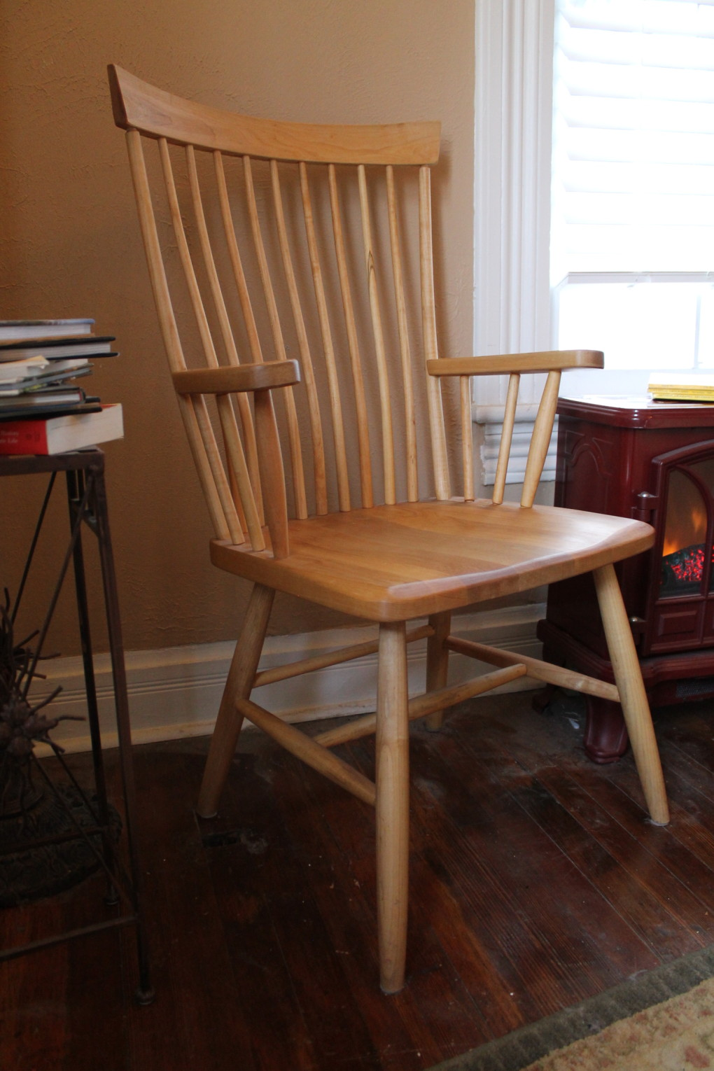"Solid Maple ""Montpelier"" Arm Chair"