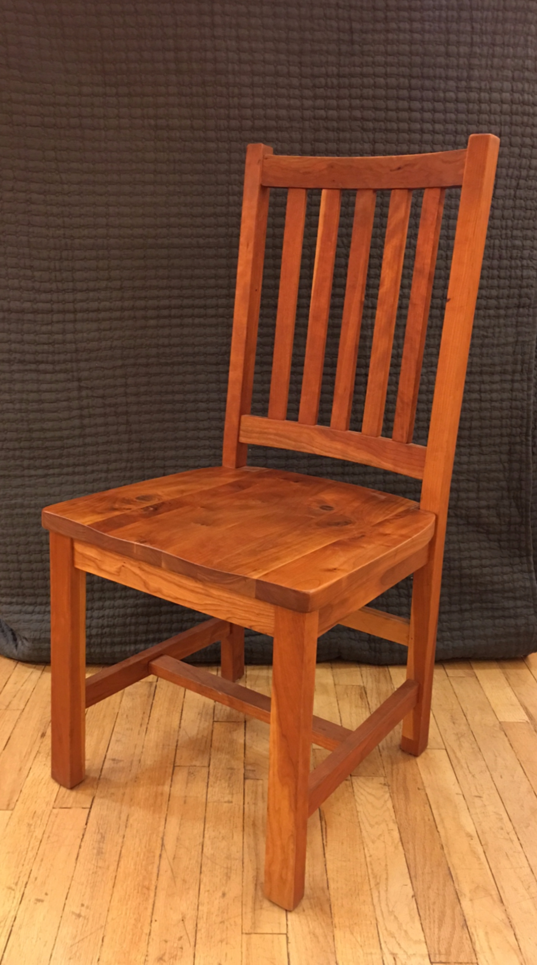 solid rustic cherry schoolhouse chair boulder furniture arts