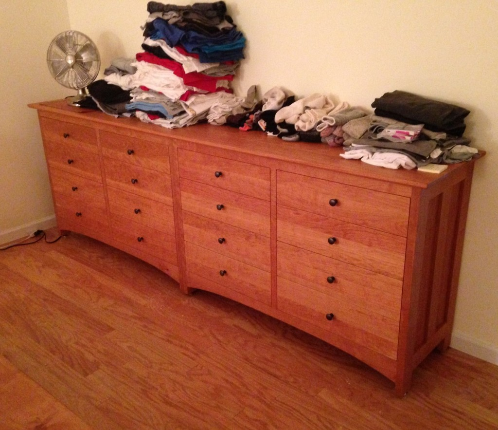 "Cherry ""Prairie"" 16-Drawer Dresser"