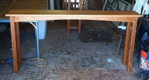 "Solid Cherry ""Prairie"" Sofa Table"