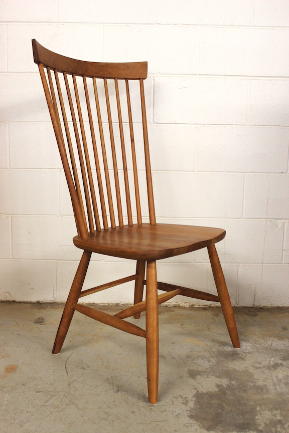 "Solid Cherry ""Comback"" Side Chair"
