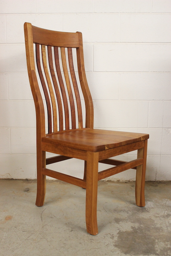 "Solid Cherry ""Mission"" Side Chair"