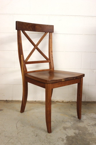 "Solid ""Cherry"" Lacroix Side Chair"