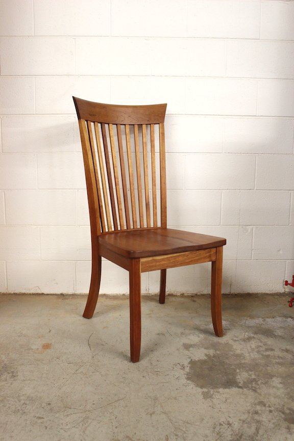 "Solid Cherry ""Hawthorn"" Side Chair"