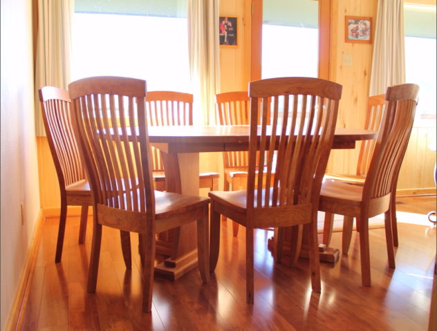 "Solid Cherry ""Newland"" Chairs"
