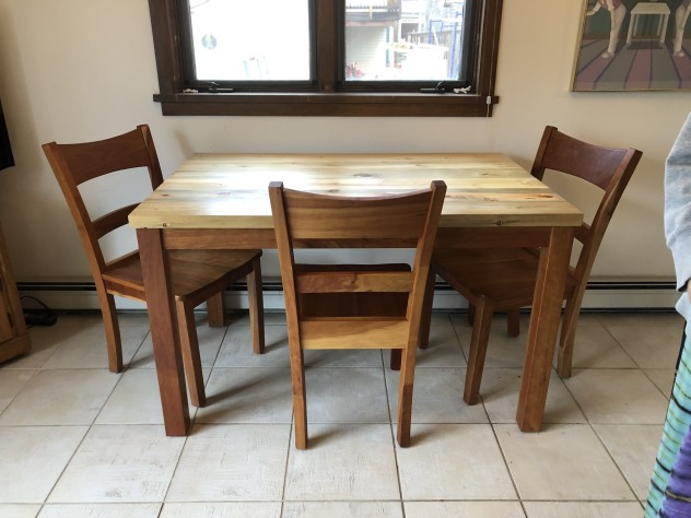 """Solid Cherry """"Canyon"""" Chairs"""