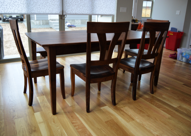 "Solid Walnut ""Mapleton"" Chairs"