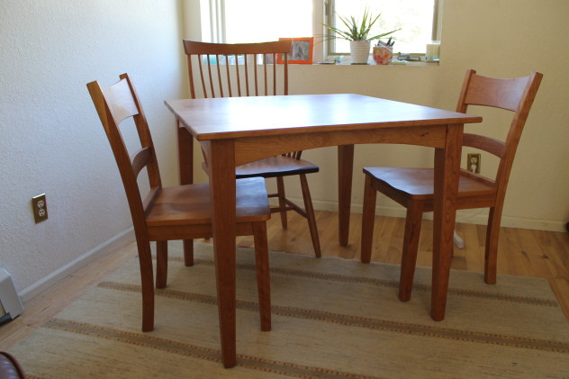 "Solid Cherry ""Canyon"" and ""Montpelier"" Chairs"