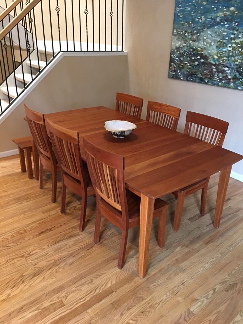 """Solid Cherry """"Whittier"""" Chairs"""