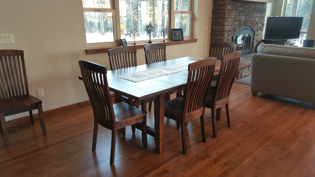 "Solid Walnut ""Newland"" Chairs"