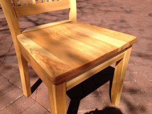 """Solid Hickory """"Whittier"""" Chair"""