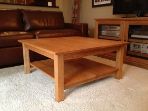 Coffee Table Mission Cherry Square