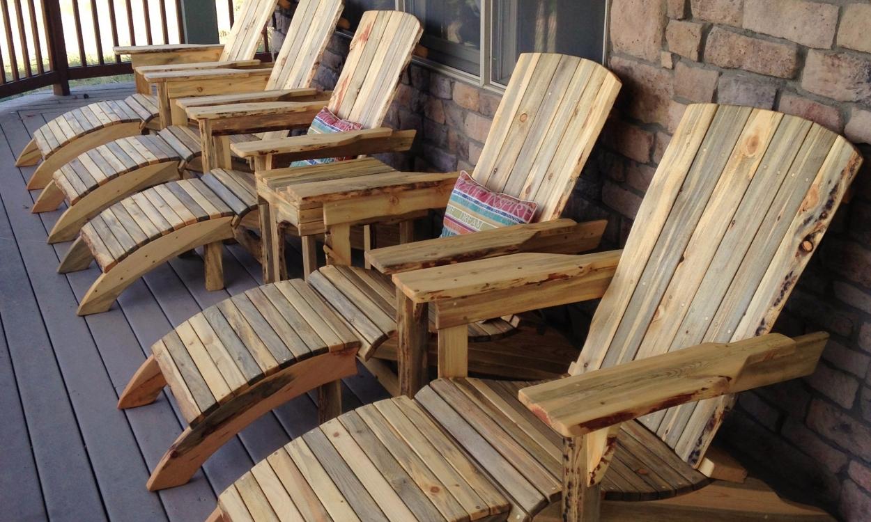 Chair Adirondack Set2