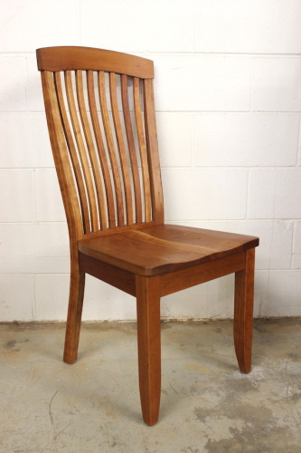 "Solid Cherry ""Newland"" Side Chair"